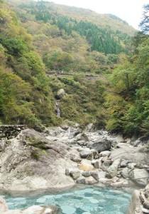 大露天風呂からの景色