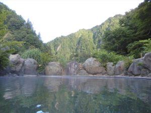 露天風呂(男)からの景色