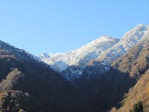 雪が降った僧ヶ岳
