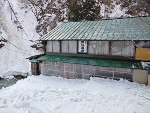 除雪後の様子