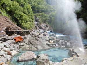 噴泉の様子