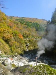 大露天風呂付近からの景色