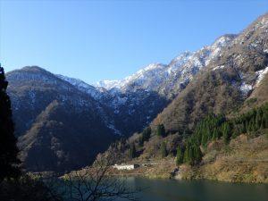 トロッコ電車からの景色