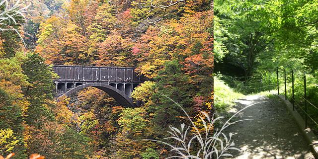 黒薙温泉旅館 水路橋