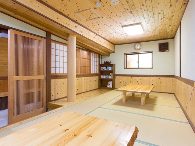 黒薙温泉旅館 無料休憩所